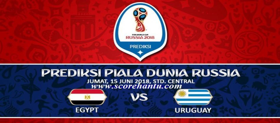 Prediksi Skor Egypt vs Uruguay Piala Dunia 15 Juni 2018.