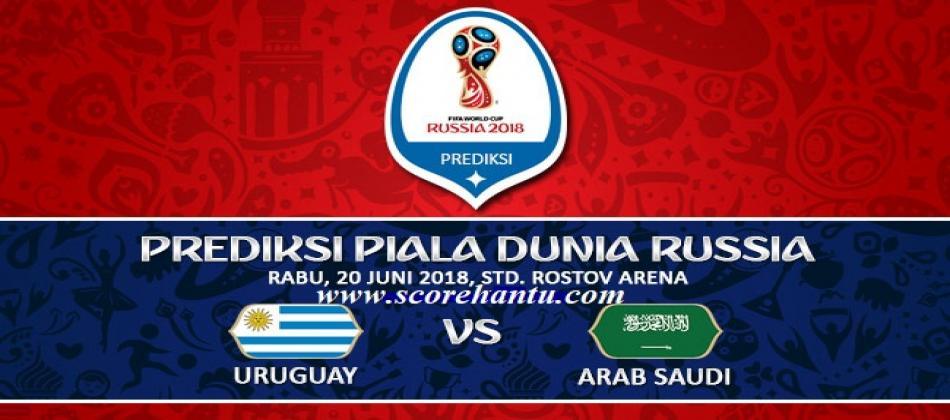 Prediksi Skor Uruguay vs Saudi Arabia Piala Dunia Pada 20 Juni 2018.