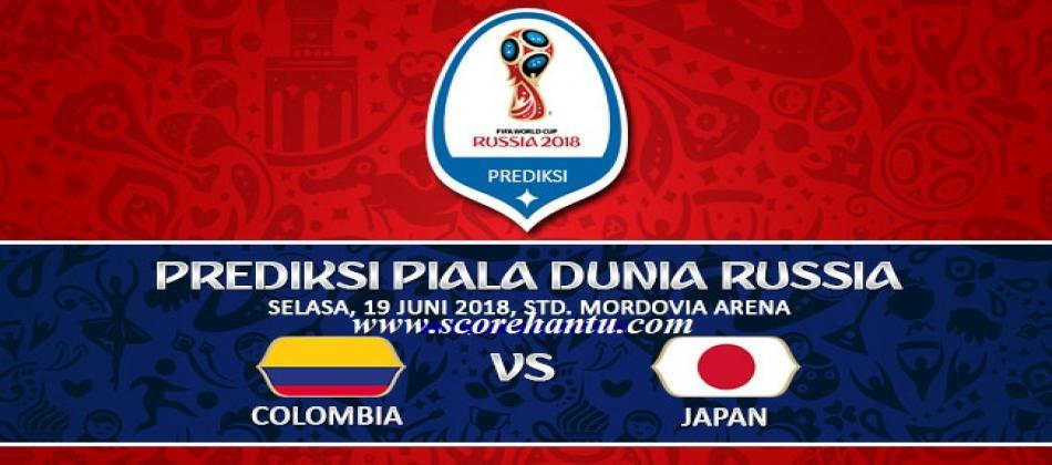 Prediksi Skor Colombia vs Japan Piala Dunia Pada 19 Juni 2018.