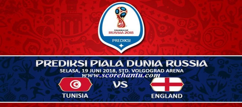 Prediksi Skor Tunisia Vs Inggris Piala Dunia Pada 19 Juni 2018.